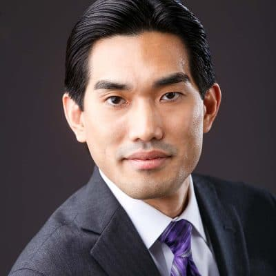 asian man corporate headshot
