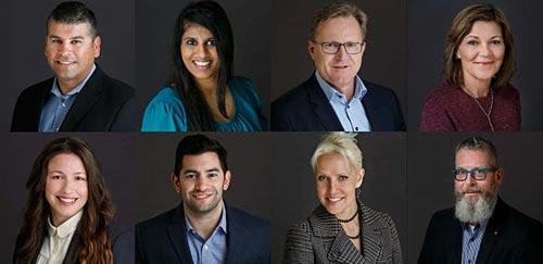 Corporate Headshots Professional Service Grid Image