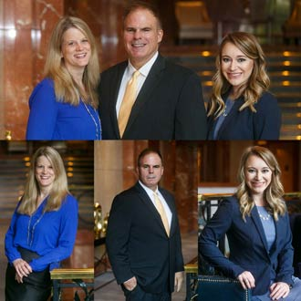 Atlanta Lawyer Group Portrait Session and Headshots